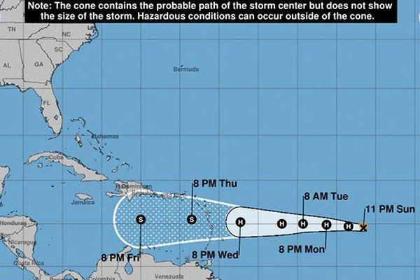 Ouragan Isaac