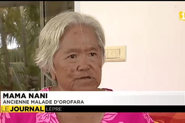 Le portrait de Mamma Nani, rescapée de la lèpre