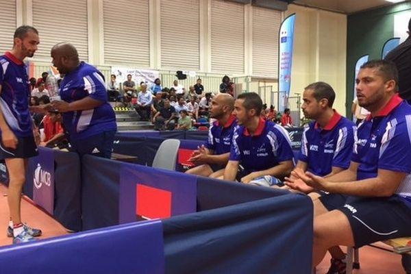 JIOI tennis de table par équipe selection Réunion