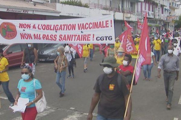 Mobilisation contre obligation vaccinale 11-09-2021