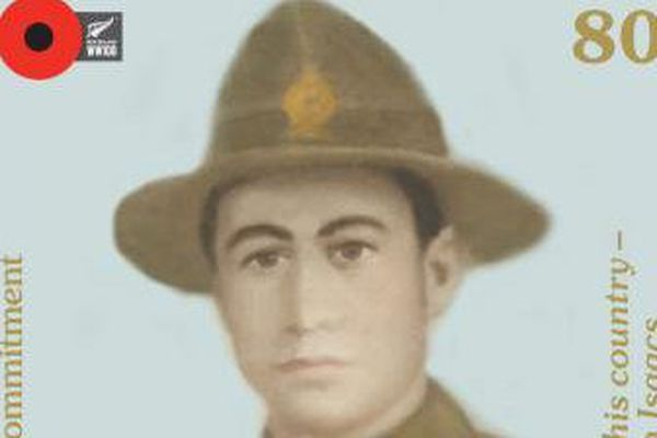 Soldat des iles Cook