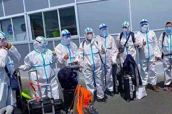 Arrivée de 9 médecins chinois sur les 11 attendus