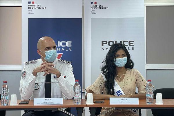 Dana Virin, Miss Réunion, s'engage dans la lutte contre les violences faites aux femmes