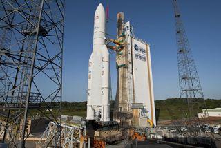 Calendrier Lancement Ariane 2019.L Activite Spaciale Au Ralenti En Guyane Cette Annee