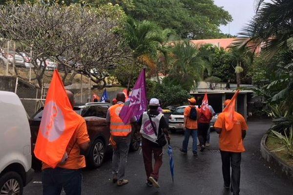 Réunion à l'ARS avec les syndicats 25 mai 2018