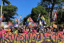Marche des visibilités Rue de Paris