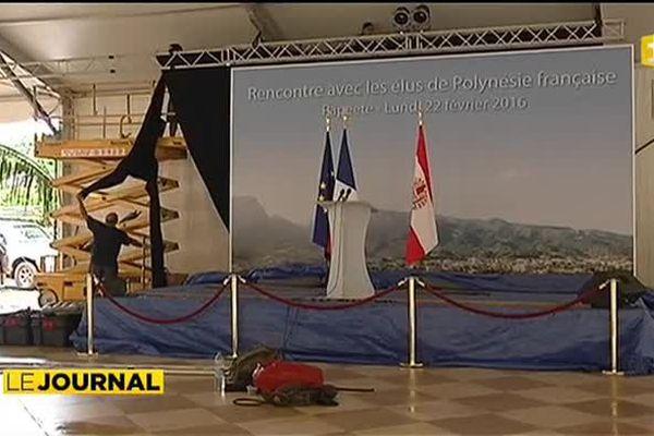Visite présidentielle : J-1