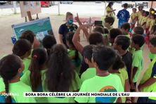 Journée de l'eau à Bora Bora