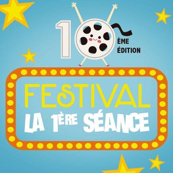 Logo des dix ans de La 1ère Première séance