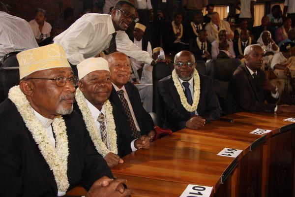 Abdoulatifou Aly, le jour de la départementalisation et élection de Daniel Zaïdani