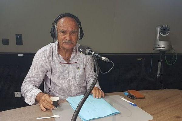 Robert Chicaud, président du Grand Raid.