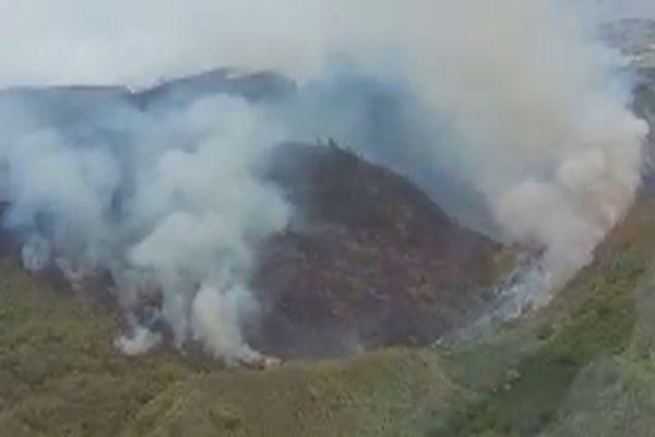 Un incendie détruit 400 hectares au nord de Nuku Hiva