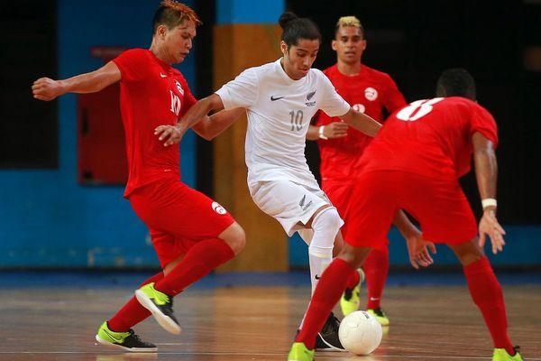 Futsal : Championnat OFC 2016 - 2ème journée : NZL 3-2 TAH