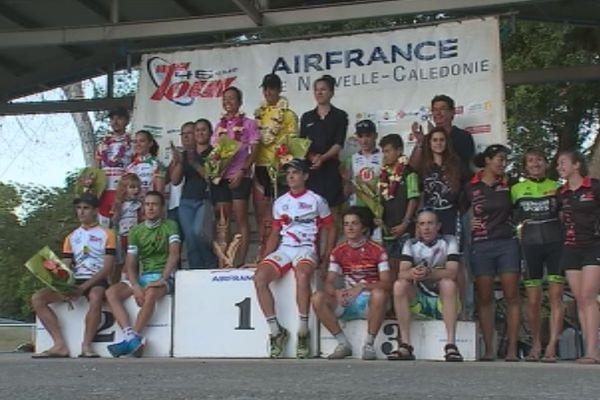 Les champions du Tour cyliste 2016