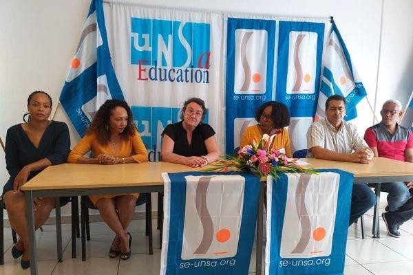 Conférence de presse SE UNSA