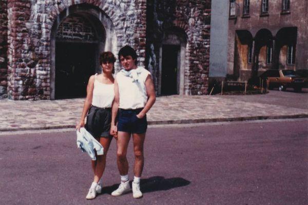 Christine Légasse et son mari