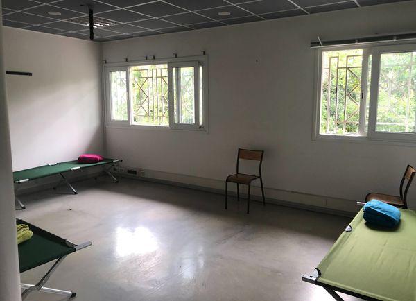 Lits picots pour SDF hôpital Gabriel Martin