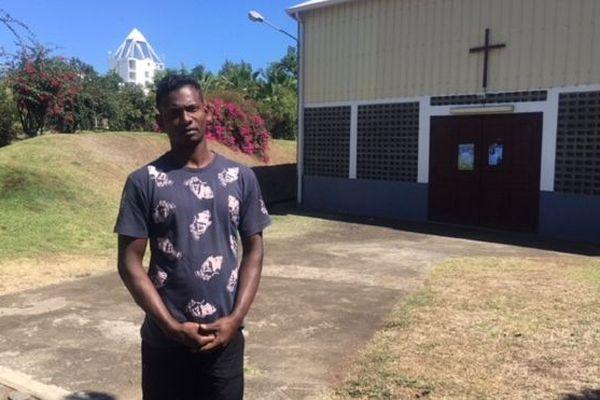 Sumeda, un jeune sri-lankais de 27 ans est arrivé illégalement à La Réunion en mars 2018.