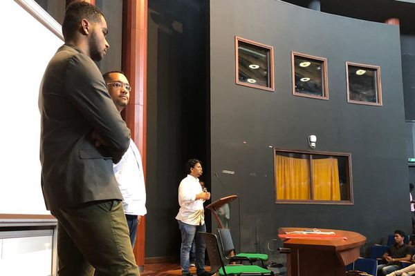 Assemblée générale à l'université de Guyane