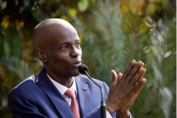 Jovenel Moïse, président d'Haïti