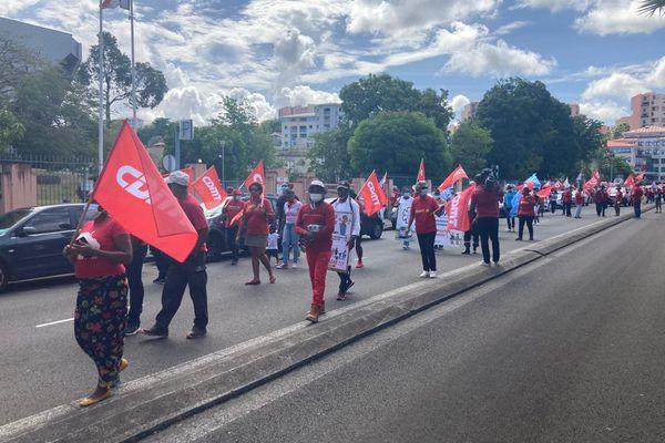 Manifestation de la fête du Travail.