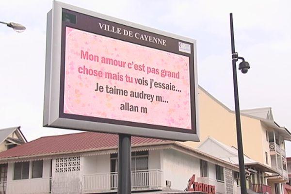 Saint Valentin à Cayenne