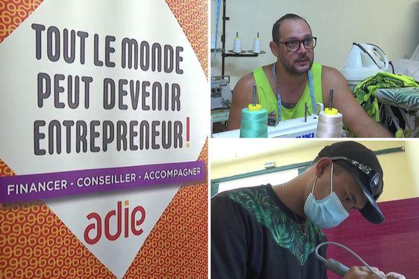 Adie : le parcours de deux entrepreneurs