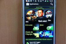 Google store verrouillé en mode applications