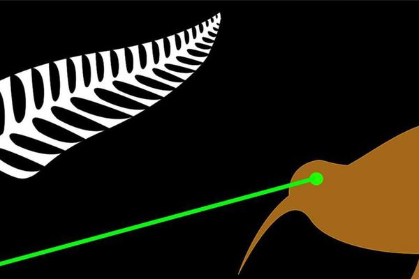 Drapeau NZ proposition étrange