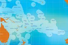 Les pays membres de la Communauté du Pacifique
