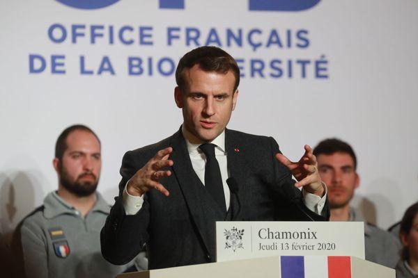 Macron Chamonix
