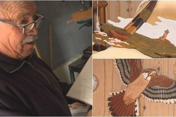 Portrait : Auguste Artano, un Saint-Pierrais passionné de sculpture sur bois