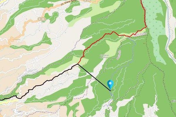 Grand Raid 2019 erreur de tracé Diagonale des Fous 181019