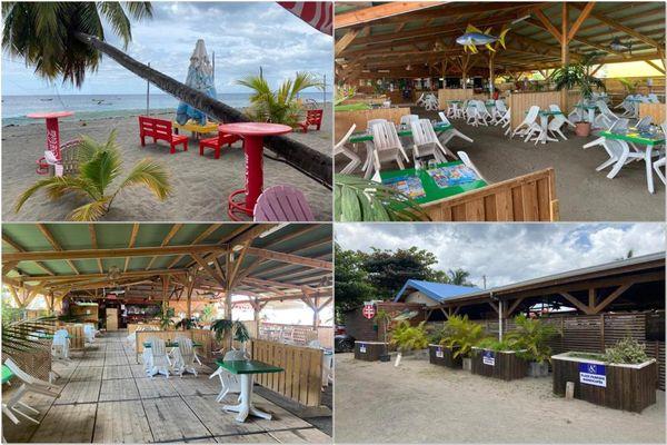 Restaurant / plage Carbet