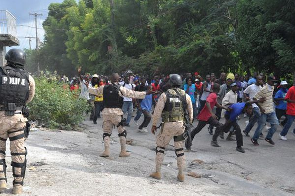 manifs haiti