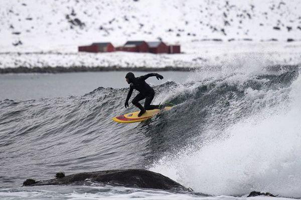 Tom Carroll en Norvège