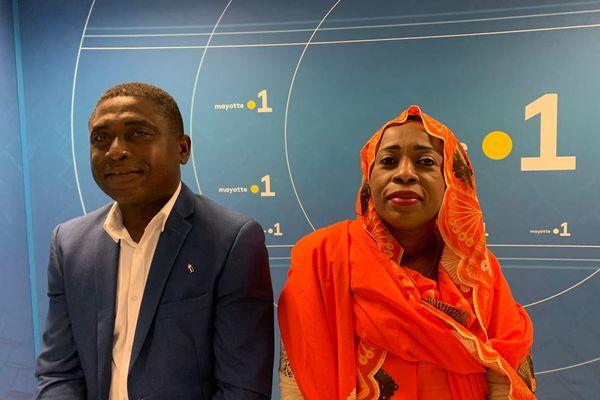 Zalifa Assani avec Attoumani Harouna OUangani