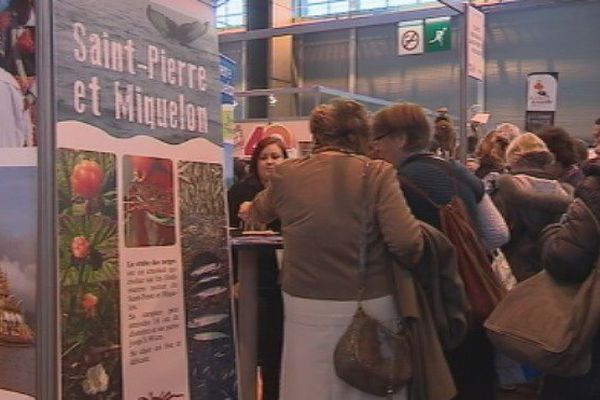 Saint-Pierre et Miquelon est représenté au Salon du tourisme à Paris.