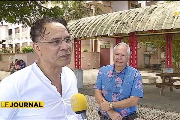 Willy Vaiho, proviseur adjoint du lycée professionnel de Faa'a