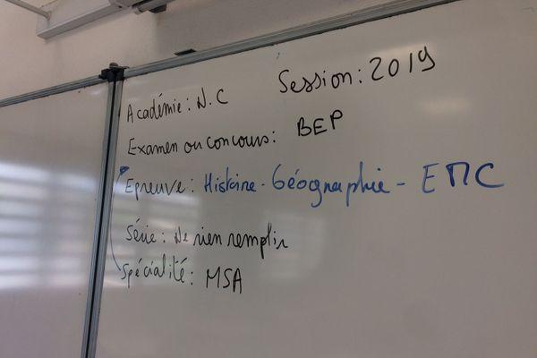 BEP 2019 au lycée Escoffier