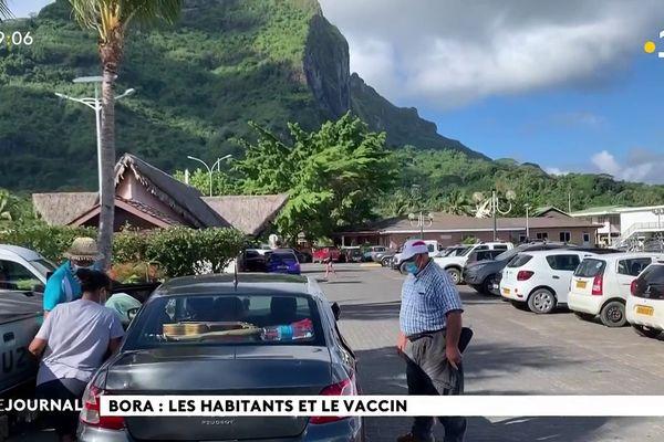 Bora Bora : les habitants et le vaccin