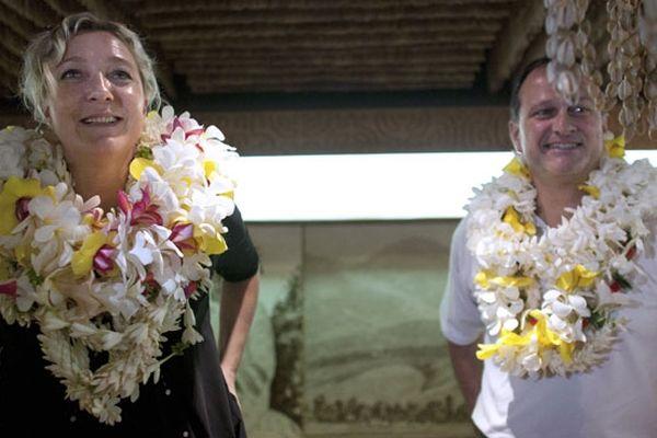 Marine Le Pen en Polynésie
