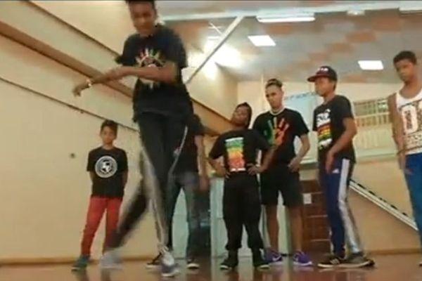 Break dance la Tampon