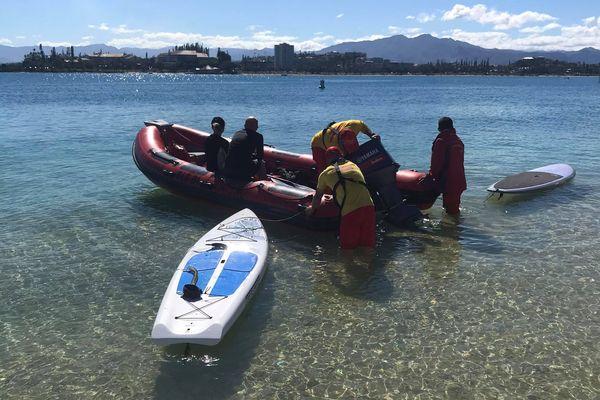 pompiers paddle