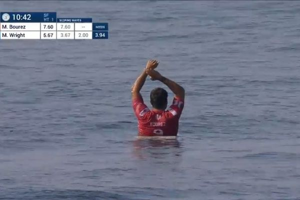 Michel Bourez demi-finale Bali