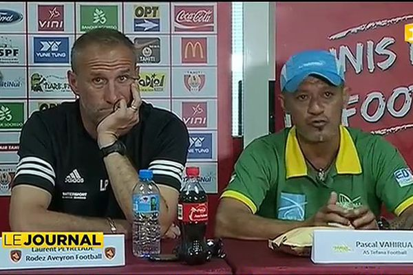 Football : AS Tefana / Rodez Aveyron, l'entente cordiale