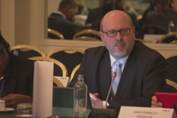 Forum des PTOM : Stéphane Lenormand à Bruxelles pour représenter l'archipel