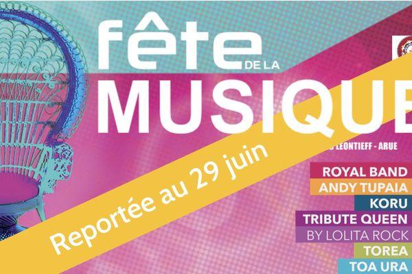 Fête de la musique à Arue : reportée au 29 juin