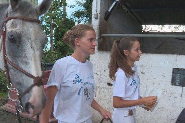 3ème rencontres équestres internationales chevaux Saint-André Clémence Rivelland sud-africaine 100319
