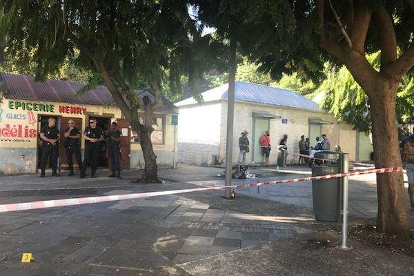 Une bagarre a éclaté, ce samedi 6 juin, dans le quartier du Bas de la Rivière, à Saint-Denis.